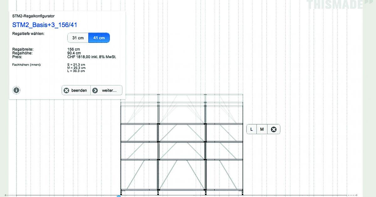 Funktionieren Digitale Möbelberater Schreinerzeitung
