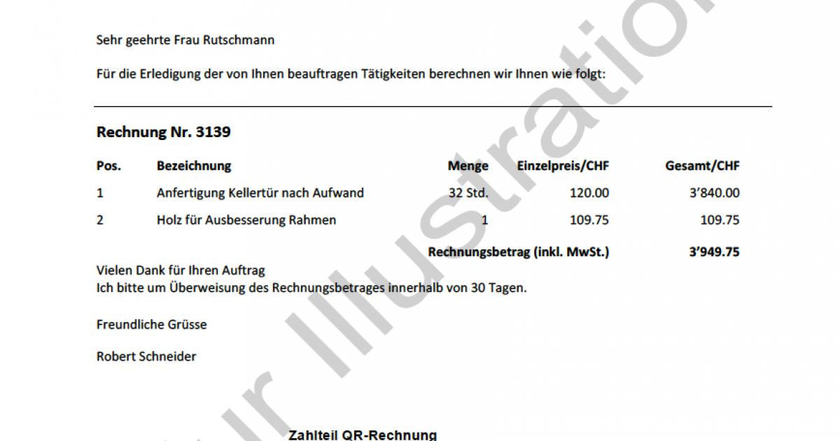 Der Einzahlungsschein Ist Bald Geschichte Schreinerzeitung