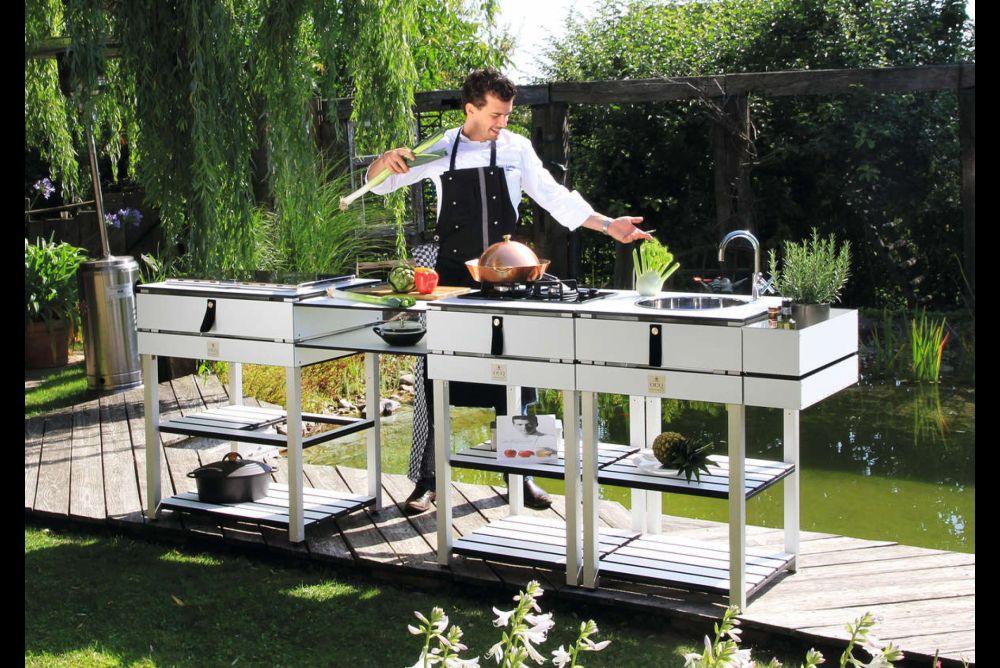 Outdoor Küche Block : Outdoor küche schrank grillen und kochen im freien hornbach