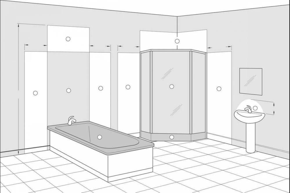 Spiegelhöhe Bad perfektes licht für das wohlbefinden schreinerzeitung