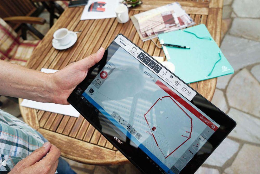 Laser Entfernungsmesser Cad : Start einer digitalisierten arbeit schreinerzeitung u2013 informatives